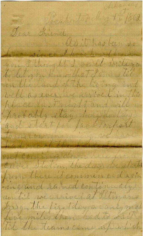 Union Soldier ALS American Civil War Letter Signed Rare