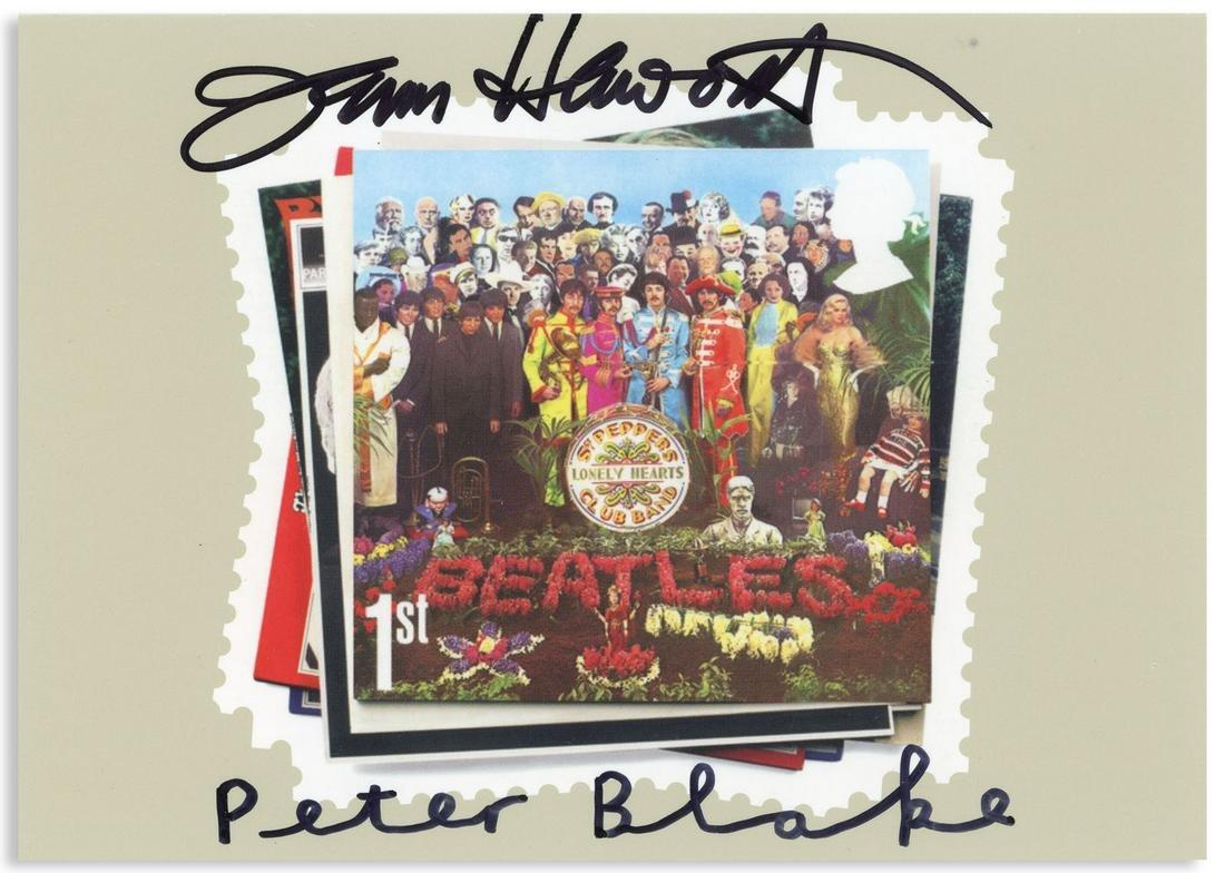 Peter Blake & Jann Haworth Signed Sgt. Pepper