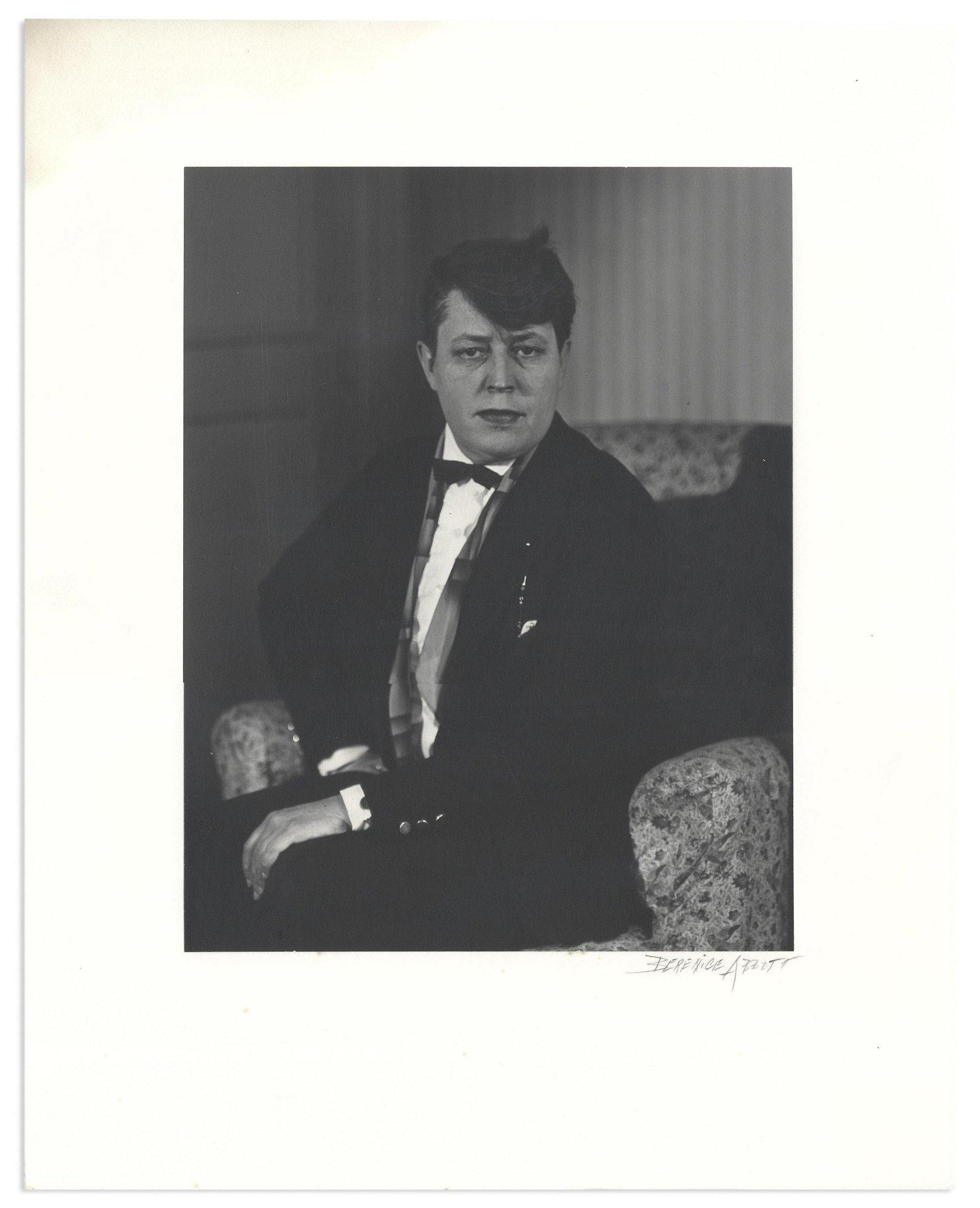 Jane Heap Berenice Abbott 16'' x 20'' Signed Photo