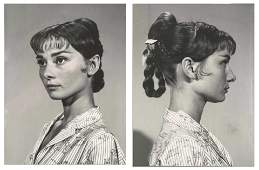Audrey Hepburn Personally Owned Pair of Photos