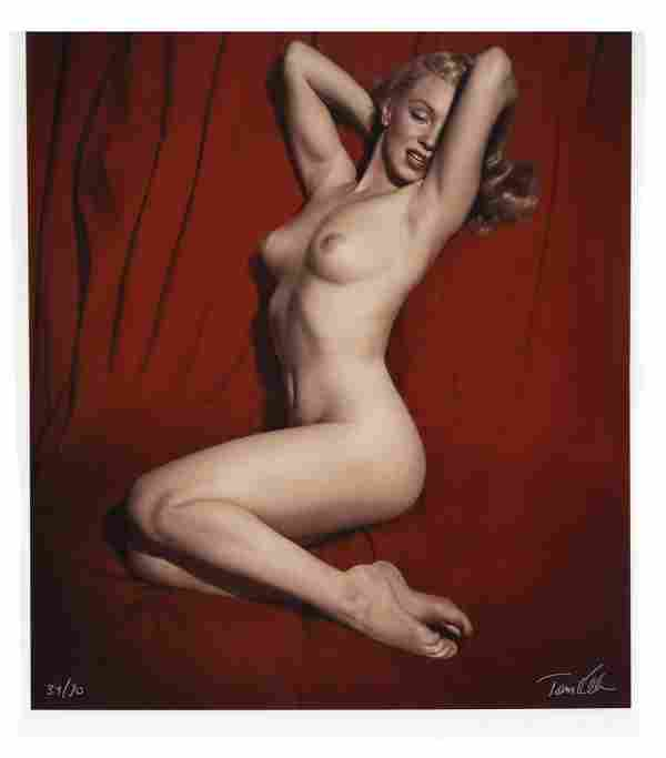 Tom Kelley Ltd. Ed. Giclee Photograph of Marilyn Monroe