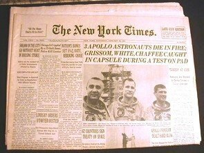 6: Apollo One New York Times Death Grissom Chaffee Whit