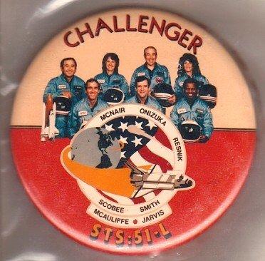 16: Challenger Button McNair Onizuka Resnik Sobee Smith