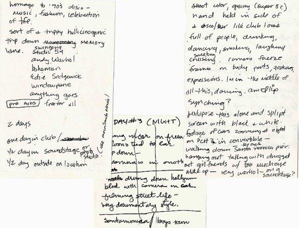 19: Erotica Madonna Handwritten Notes Autographed Music