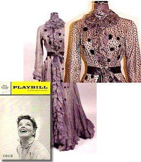 21: Katharine Hepburn Gown Theatre Costume Coco Dress
