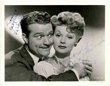 72 Lucille Ball Red Skelton Photo Signed Signature Sig