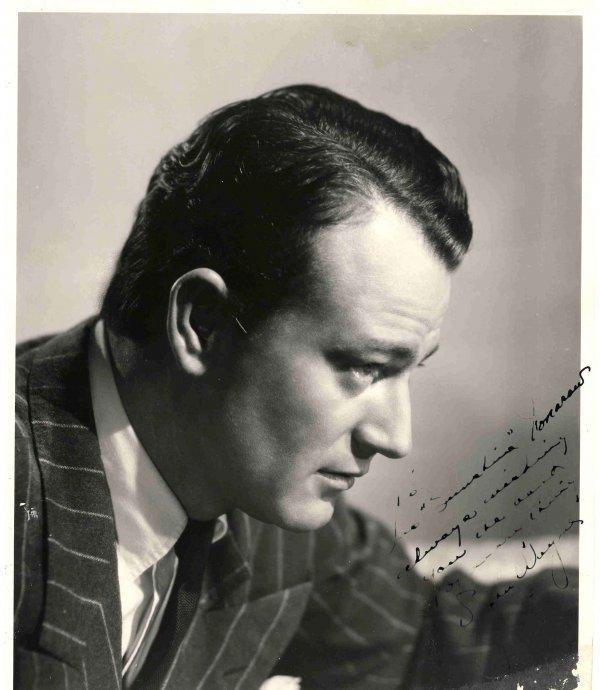 94: John Wayne Signed  Inscribed Photo Autograph