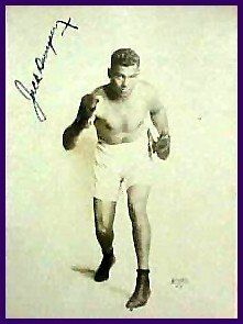 119: Jack Dempsey Signed Boxing Photo Autograph Sig