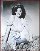 170 Jane Russell Signed Photo Autograph Signature Sig