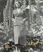 188 Marlene Dietrich Signed Photo Autograph Signature