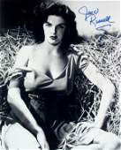 190: Jane Russell Signed Photograph Autograph Signature