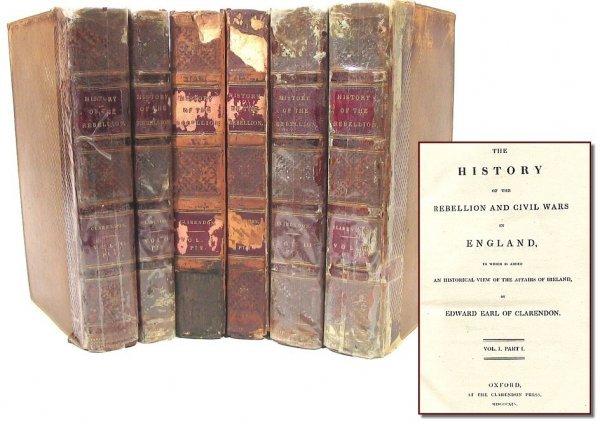 606: The History Rebellion Civil Wars England Earl Clar