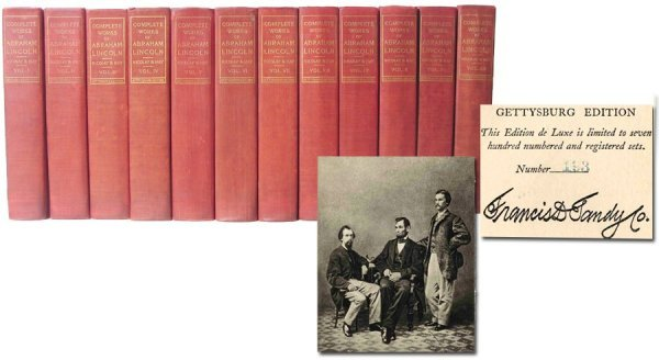609: Complete Works Abraham Lincoln Nicolay Hay Limited