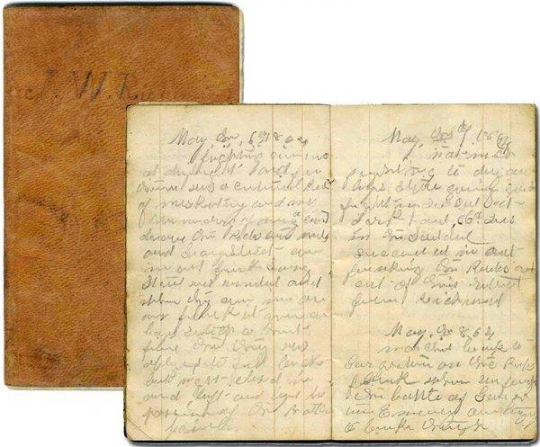 991: Civil War Diary Battle Content Soldier Letter Docu