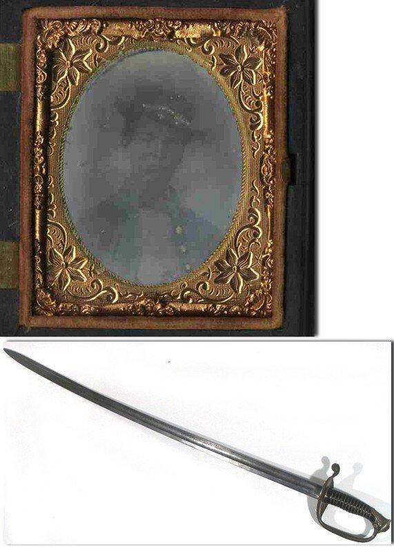 1005: CW Tintype Confederate Soldier Civil War Image