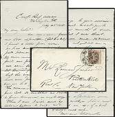 1544: CW Letter Civil War ALS Signed Soldier 1862