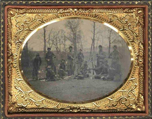 1767: Civil War Tintype Photo Photograph Picture Union