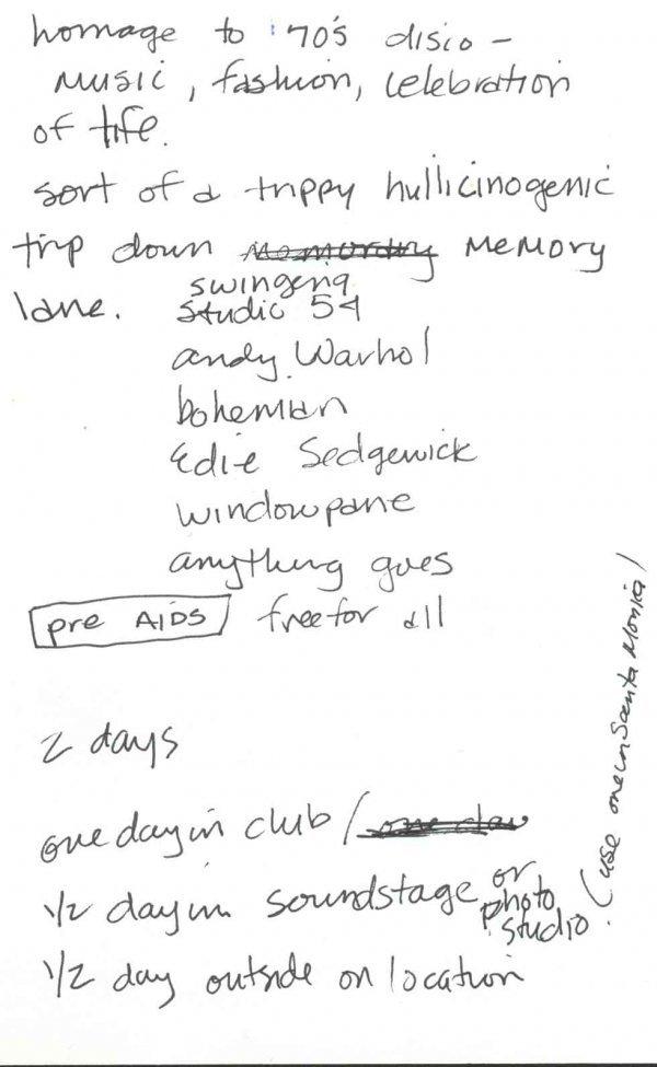 16: Erotica Madonna Notes Video Deeper Autograph