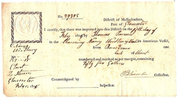 743: Document Signed Benjamin Lincoln autograph DS