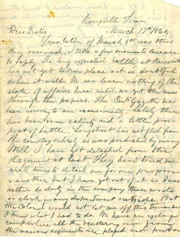995: Civil War ALS Signature Soldier Letter Signed Ohio