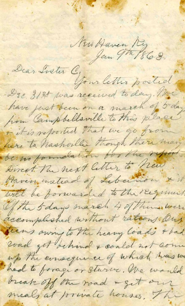 1000: Civil War ALS Signature Soldier Letter Signed Ohi