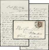 1635: Civil War Soldier Letter Signed Potomac ALS DC