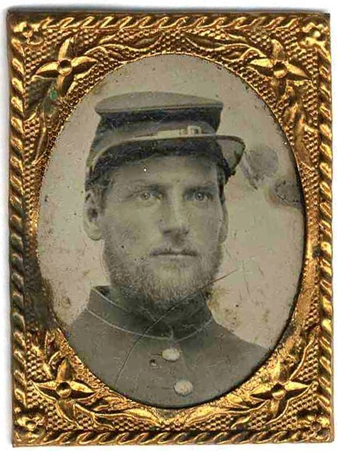 2249: Civil War Tintype Union Soldier Photograph Photo