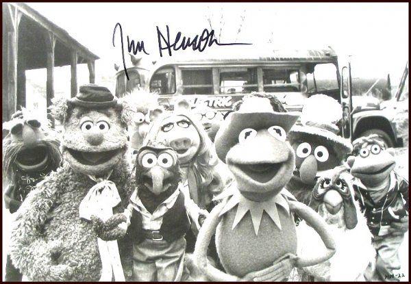 87: Jim Henson Signed Photo Autograph Sig