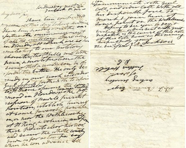 477: President Andrew Jackson Autograph Letter Signed S