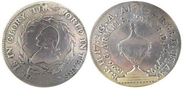 481: President George Washington Silver Funeral Medal