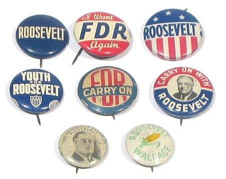 642: Franklin D Roosevelt Presidential Campaign FDR