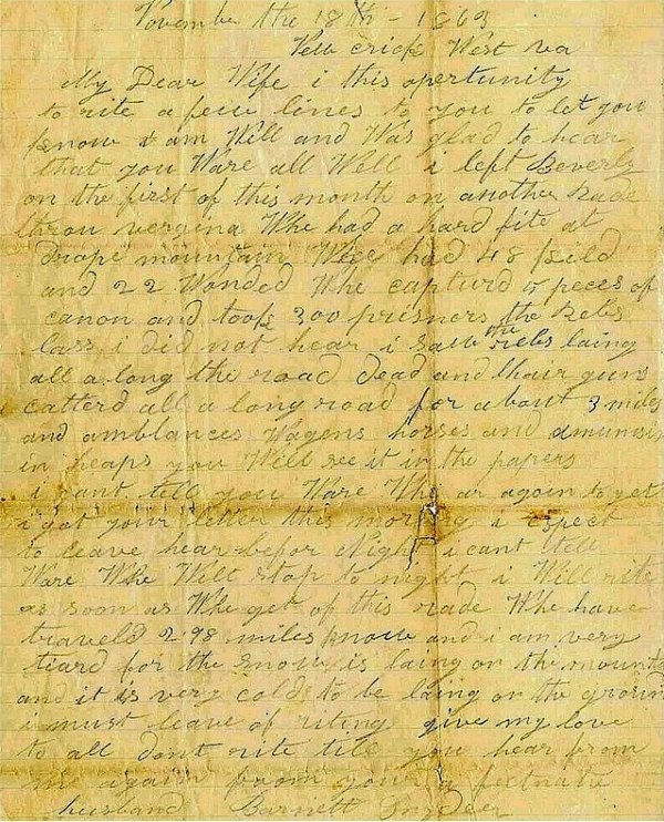 995: Civil War Soldier Letter Signed ALS Cavalry PA
