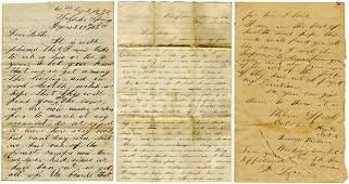 1341: Civil War Soldier Letter Signed ALS Petersburg