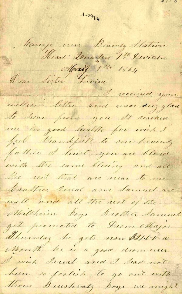 1409: Civil War Soldier Letter Signed ALS Attack Rebels