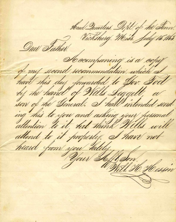 1410: Civil War Soldier Letter Signed ALS Siege Vicksbu