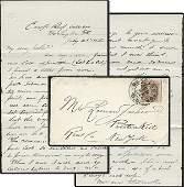 1574: Civil War Soldier Letter Signed Potomac ALS DC