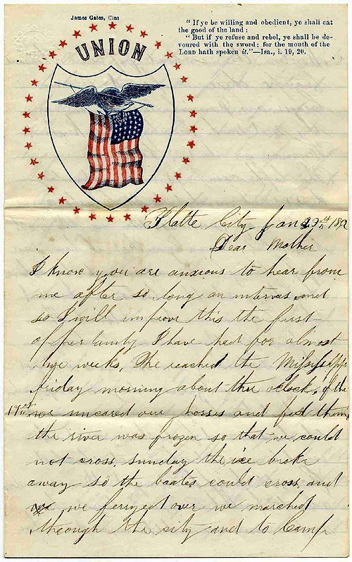 1761: CW Soldier Banks Expedition Letter ALS Signed