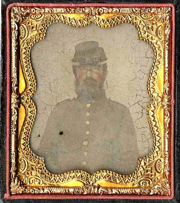 1792: Civil War Tintype Soldier Photograph Picture Pic