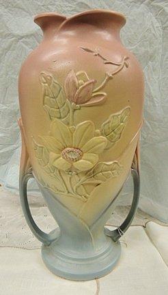 Hull Art Magnolia Vase 16 X 15'' Tall