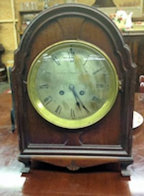 Rare Bigelow Kennard & Son Inc Mantle Clock