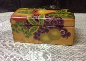 Nice Hand Painted Box Great Colors China