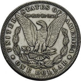 Sølvdollar 1897s, Kv.01