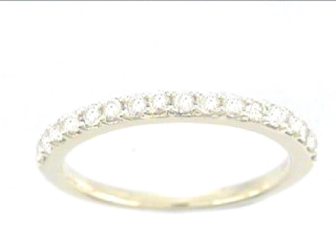 14K Yellow Gold 0.41CTW Diamond Band Ring