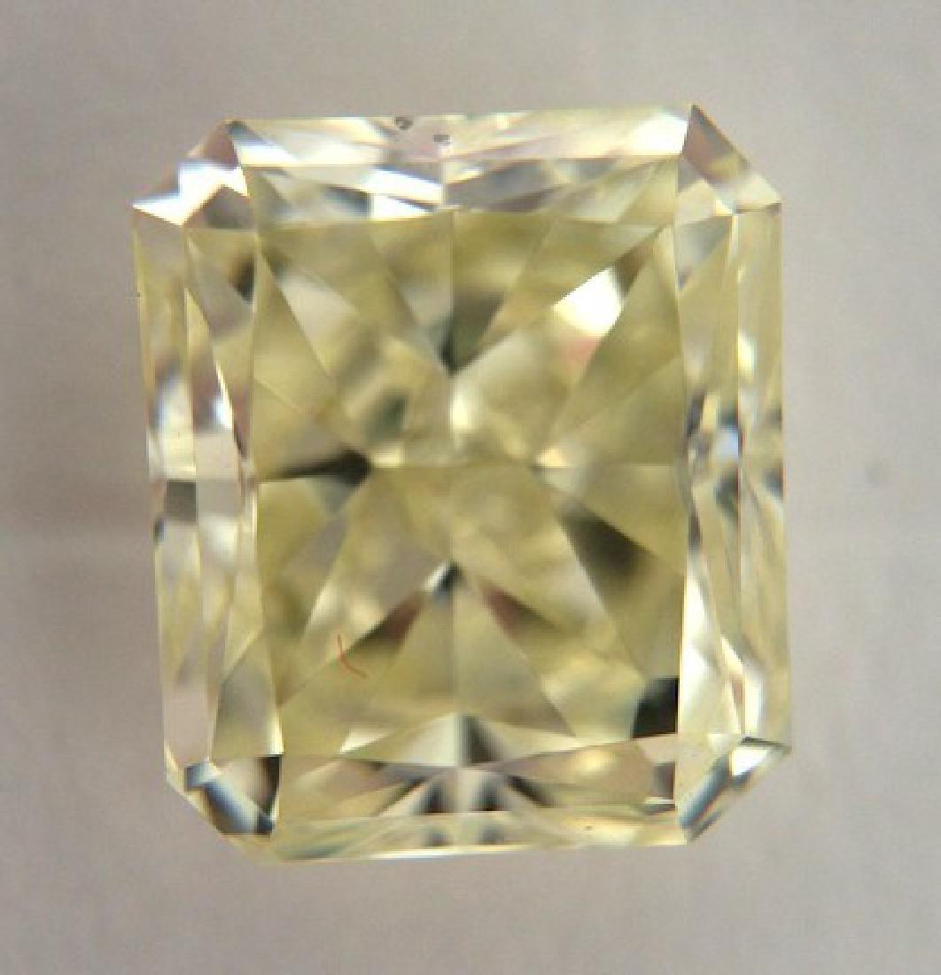 Diamond Colored Radiant 2.01cts Y-Z VS2 GIA