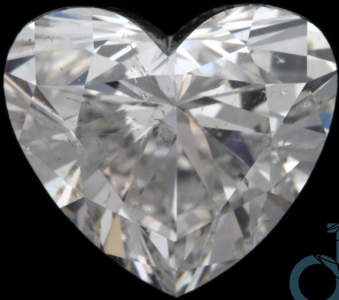 Diamond Heart 1.7cts H SI2 GIA