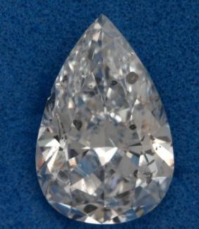 Diamond Pear 1.05cts D SI3 EGL USA