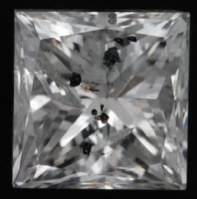 Diamond Non Cert Princess 1.02cts G I1