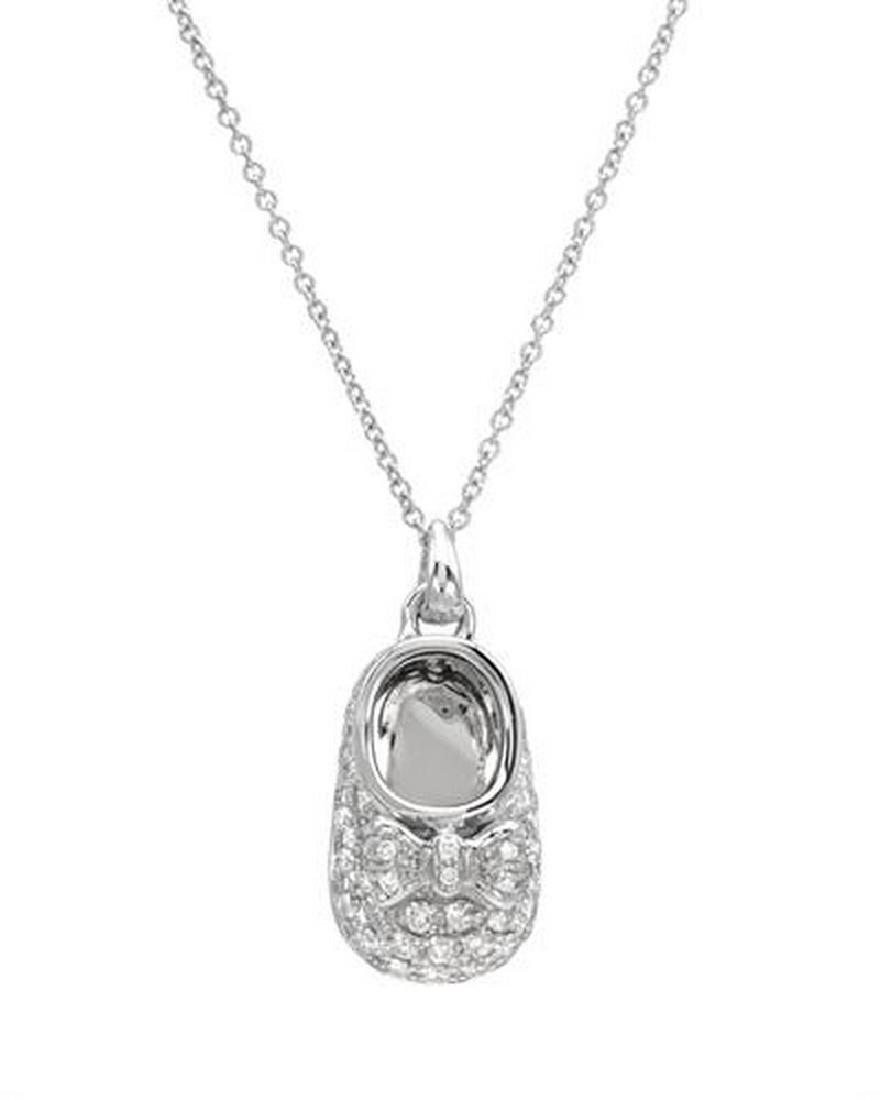 0.71 CTW Diamond Slider Necklace in 14K White Gold