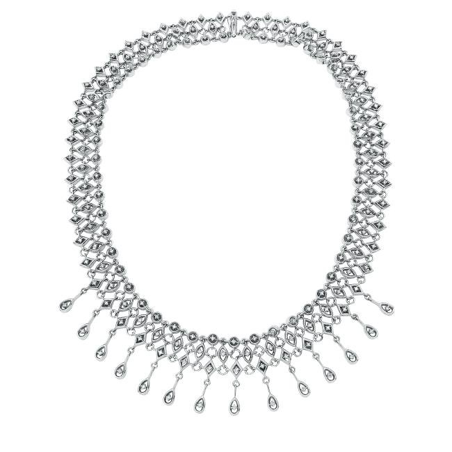 1.48 CTW Diamond  Necklace in 14K White Gold
