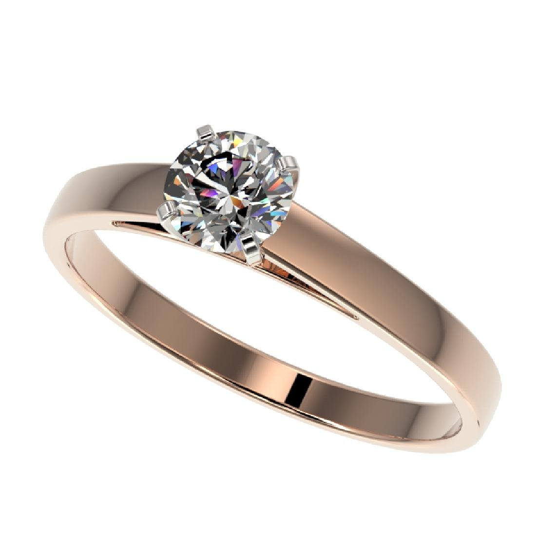 0.50 CTW H-SI/I Quality Diamond Solitaire Engagement